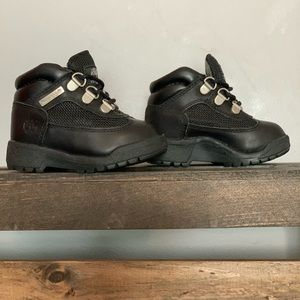 Black toddler Timberland boots